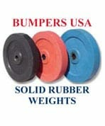 Rubber Bumper Weight Plates | Rubber Weights Bumpers USA | Rubber Molding